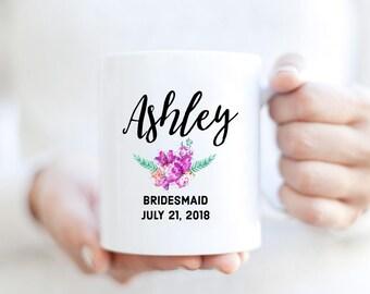 Custom Bridemaids mug | Custom Mug for Bridesmaids | Custom Name mug | Bridesmaids Mug | Custom Bridal Party Mug | Custom Wedding Mug