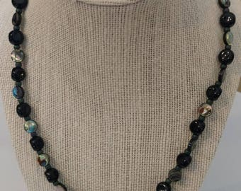 "Beautiful 26"" Abalone Shell Necklace"
