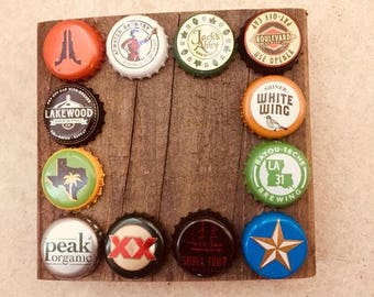 Customizable beer coasters (set of 4)