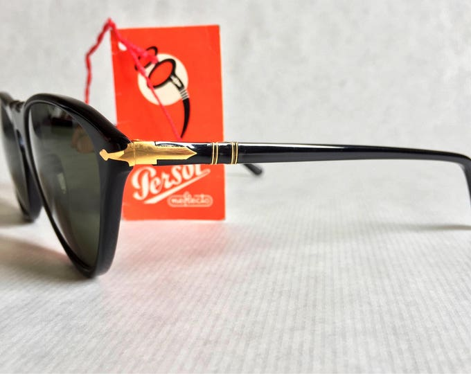 Persol Ratti 201 Vintage Sunglasses New Old Stock Made in Italy in 1987