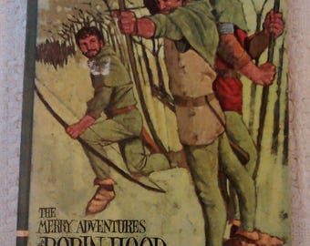 The Merry Adventures of Robin Hood by Howard Pyle, Volume 9, 1968 Hardcover