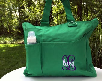Daddy diaper bag etsy initial and name personalized baby shower gift baby monogrammed diaper bag customized baby tote negle Image collections