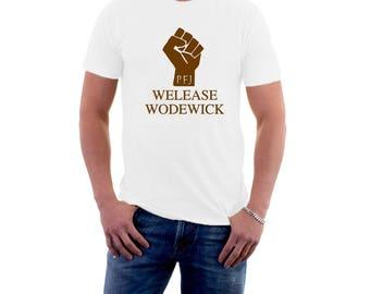 Welease Wodewick T-shirt Monty Python Life of Brian Tribute Parody. Funny Cotton Tee.