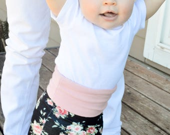 Maxi Skirt & headband, Girls maxi skirt NB-4T , black floral maxi skirt, summer skirt, Girls skirt