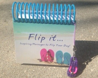 Flip it...Inspiring Messages to Flip Your Day Perpetual Calendar