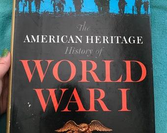 VINTAGE! world war I book