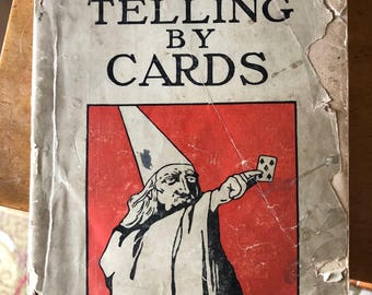 Antique/Vintage Fortune Telling by Cards by Professor Foli 1900