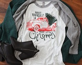 Have Yourself a Merry Little Christmas; Vintage Truck Tee; Christmas Shirt; Holiday Tee; Holiday Shirt; Most Wonderful Time of the Year