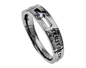 "Solitaire Ring ""Trust"""