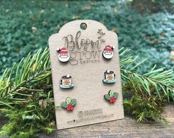 Stud Earrings - Holiday Season 2