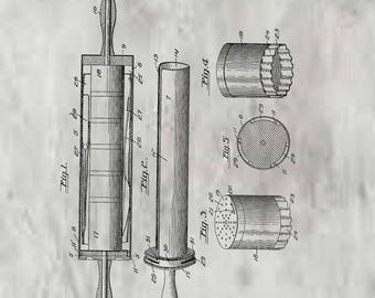 Rolling Pin Patent #1192230 dated July 25, 1916.