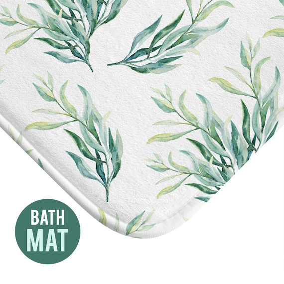 Greenery Bath Mat - Available in Two Sizes