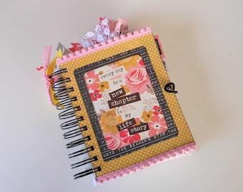 Journal, Mini Journal, Notebook,Smash Book, Blank Book