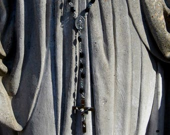 Refurbished Black Rosary
