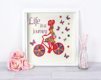 silhouette bicycle ride   inspirational silhouette  girl ride bike  silhouette frame art   coloured silhouette   silhouette artwork
