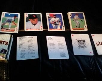 1994 US Bicycle Playing Cards San Francisco Giants Deck  Barry Bonds Matt Williams + California/baseball/MLB/World Series