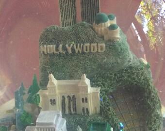 Hollywood Knick,California Knick,Globe Music,Hollywood Gift,Music Box,California Souvenir,Hollywood Art,Hollywood Souvenir,California Gift