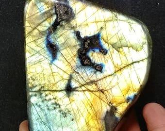 Labradorite Polished Stone - Display Size - Vibrant colors!