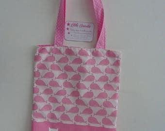 Tote bag sac plat sac de bibliothèque maternelle