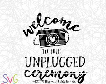 Wedding Sign Svg Etsy