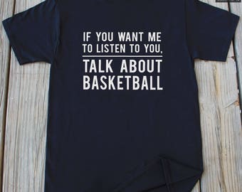 Basketball Shirt Funny Gifts For him Funny Basketball Shirt Gifts For Brother Christmas Gifts Birthday Gift For Brother Funny Basketball Tee