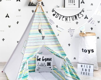 Teepee, Tipi Enfant, Tipi, Teepee Tent, Tipi Pour Enfant, Kids Teepee, Tipi Tent, Childrens Teepee, Teepee Tent Kids, Teepee With Mat