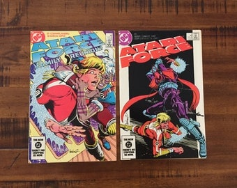 1984 Atari Force #4 and #6 Comic Books / VF-FN/ DC Comics/ Choose One or Both for a Discounted Price!!!