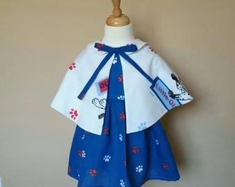 Disneys 101 Dalmatians dress with Capelet