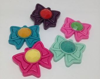 Flakes of five warriors Sailor Moon handmade resin.