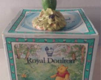 Royal Doulton Winnie the Pooh and Friends Piglet Picking The Violets