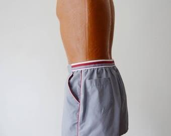 1980s Grey Jantzen Shorts - Size 38