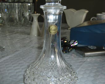 """Cordial 9 3/4"""" Decanter in Longchamp (Clear) by Cristal D'Arques-Durand"""