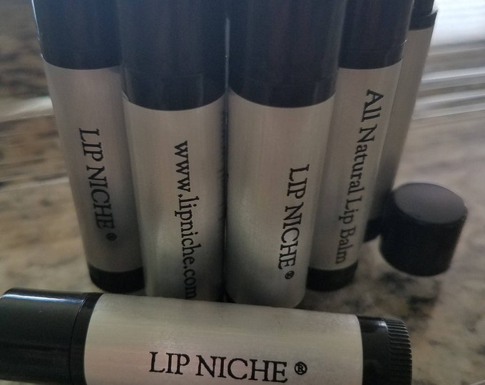 Featured listing image: Lip Niche - All Natural Lip Balm, This is our unisex balm, clear in color yet highly moisturizing for softer, healthier lips.