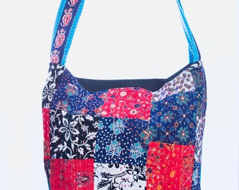 Patchwork Type 2 Cross Body Messenger Bag