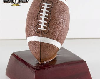 13 Color Football Resin Award - Football Trophy - Free Personalization