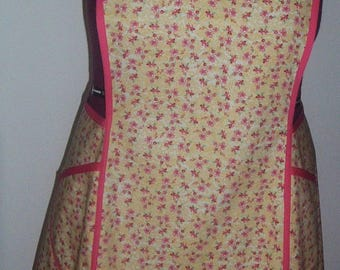Large,  Womens CrossBack Style Apron - Pockets