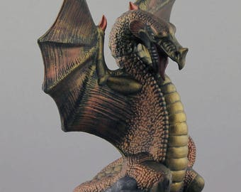 Flare Dragon (Bronze and Gold)