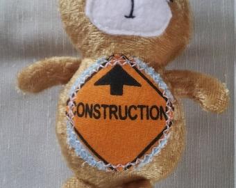 Construction Teddy Bear Plush
