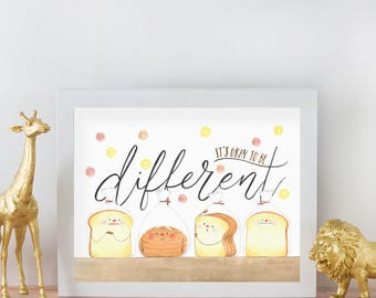Be Different - Art Print