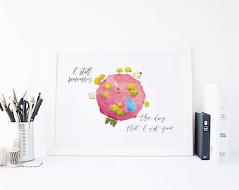 Our First Meet - Toastie Collection Art Print