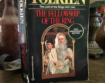 Vintage The Fellowship of the Ring by J.R.R. Tolkien