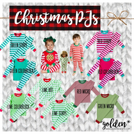 CYBER MONDAY 2017 SALE!  Boy and Girl, Kids, Child Christmas Pajamas, PJs, Xmas, Gift, Custom, Personalized, Initial