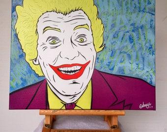 Vintage Joker Spray Painting - Summer Sale