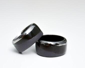 Ceramic Ring, Ceramic Jewelry, Porcelain Jewelry, Porcelain Ring, Handmade Ring, Band Ring, Unisex Ring, Unisex Jewelry, Gorth Ring, Minimal