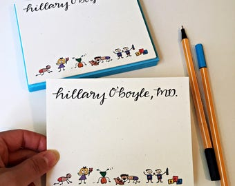 Pediatric Doctor Gift / Pediatric Nurse Gift / Pediatrician / Doctor Stationery