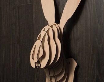 Rabbit head - Digital files