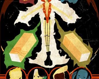 Le Cinquieme Element (The Fifth Element) Poster