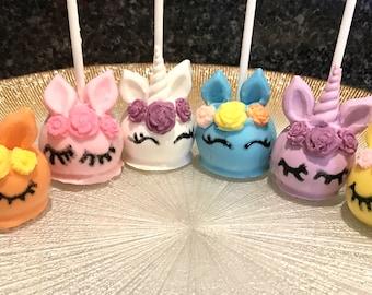 My Little Pony Cake Pops - Unicorn