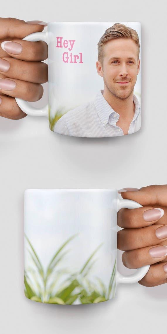Ryan Gosling custom name mug - Christmas mug - Funny mug - Rude mug - Mug cup 4P039