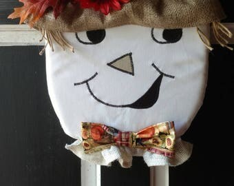 Scarecrow Door Hanger, Halloween Door Decoration, Scarecrow Door Decoration, Halloween, Halloween Decoration